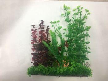 Artificial Plastic aquarium plants Grass for aquarium background Ornament decoration