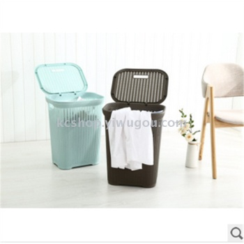 Dirty clothes basket plastic belt cover the basket of baby toys