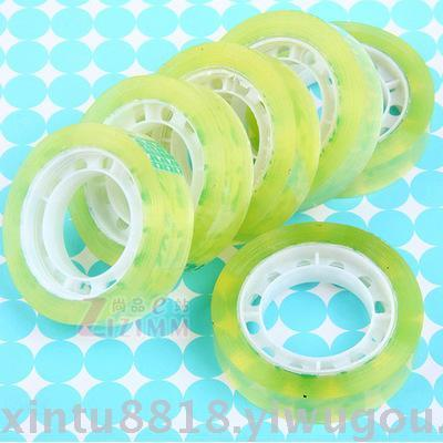 1413 office transparent adhesive tape stationery with a width of 0.8cm in thickness of 1.3cm
