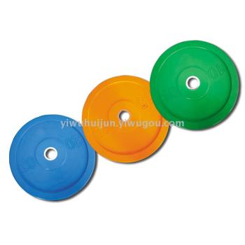 Professional game barbell piece natural rubber slice a160