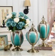 New classical european-style living room tabletop cabinet tabletop decoration