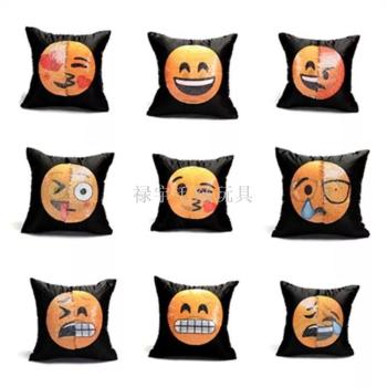 Double color emojis, changeable face and face magic, and a light pillow in the pillow