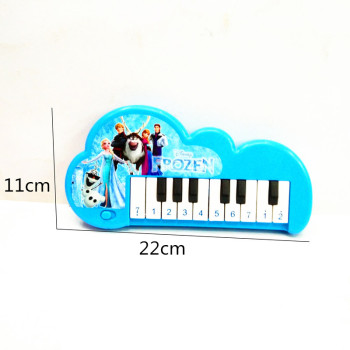 Children's new toy bag children's princess 10 key electronic piano toys