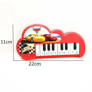 Children's new toy bagged children's toy story car 10 keyboard electronic toys