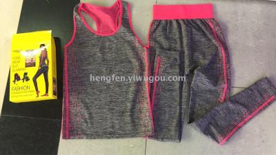 Copper yoga sportswear