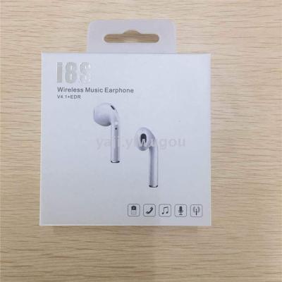 The new I8S mini wireless earphone headset