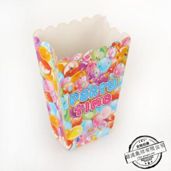 Popcorn box popcorn box folding box