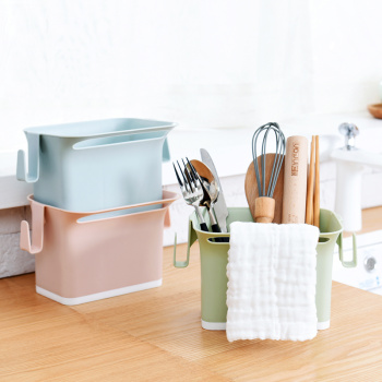 Kitchen rack of multi-functional tableware rack and knife stand for the creative plastic tableware collection rack