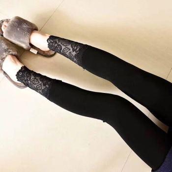 Muji goddess pants and lace trousers