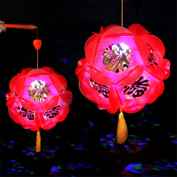 The factory sells the Lantern Festival Mid-Autumn festival the traditional hongfu big red lantern wholesale