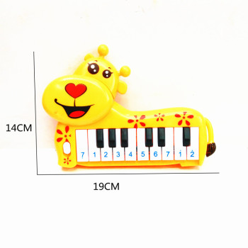 Children's new toy bagged children plastic plum deer 10 key electronic piano toys