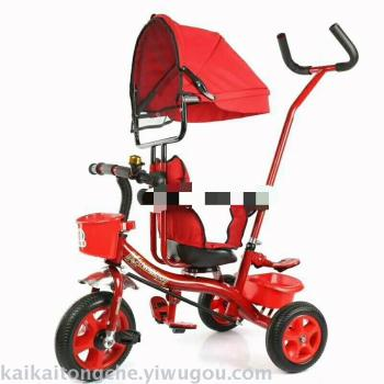 The new 619 rotary tricycle chooses multifunctional children's car