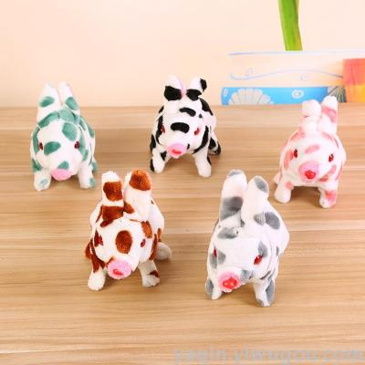 Electric rabbit spotted rabbit factory direct sale