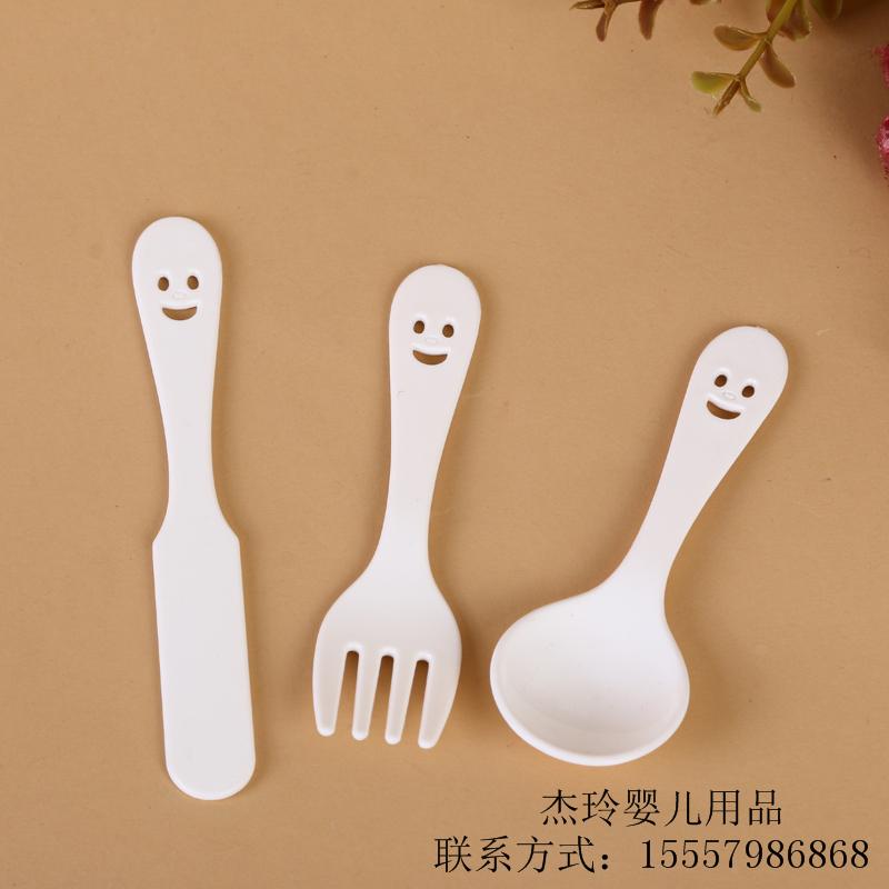 厂家直销 2017可爱儿童刀叉勺6件套