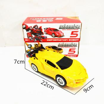 Children's new electric toy box children's smart electric ferrari deformation car light music