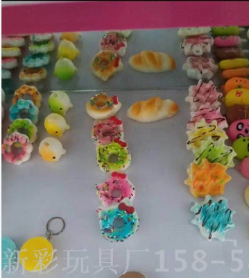PU slow rebound cake bread squishy simulation toys open mold custom model props