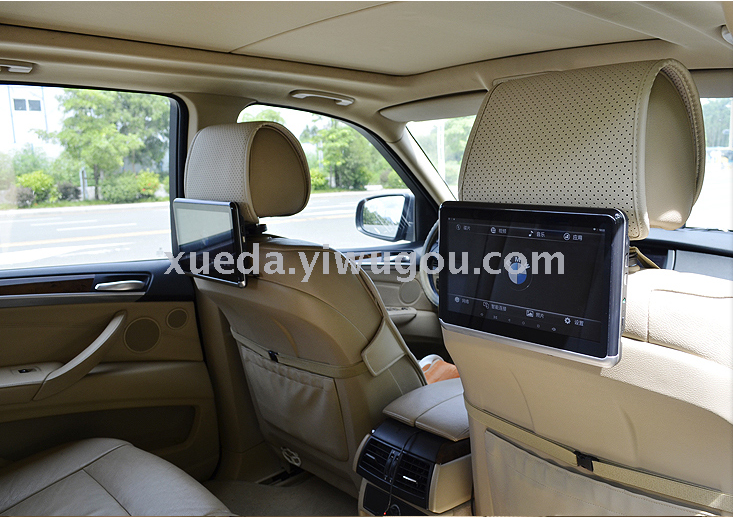 Supply Car Rear Entertainment System TV Backseat Android DVD Headrest Display BMW Benz