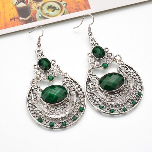 Quick sell to sell hot sell the European and American popular court antique carved out the ear stud earrings earrings