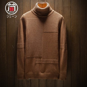 Men's sweater Korean version of high neck long sleeve knit sweater autumn jacket vintage youth jacket sweater sweater