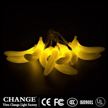 battery  banana string lights fairy lights for festival decoration gift for kid