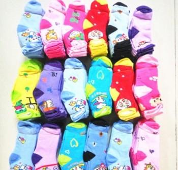 Autumn and winter new children socks wholesale cute cartoon baby socks boy and girl stockings
