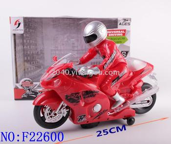 Electric universal light music motorcycle baby early education intelligent sensing toy wholesale F22600