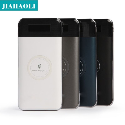 Jhl-wx010 wireless charging baqi wireless charging capacity ultra-thin digital display wireless mobile power new style