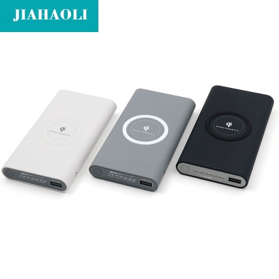 Wireless charging treasure mobile power QI wireless charger universal wireless charger factory wholesale