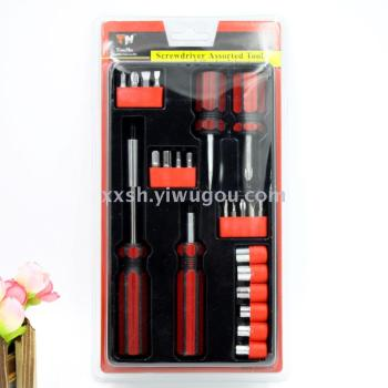 189 tool multi - function screwdriver tool combination of high - selling hardware tools