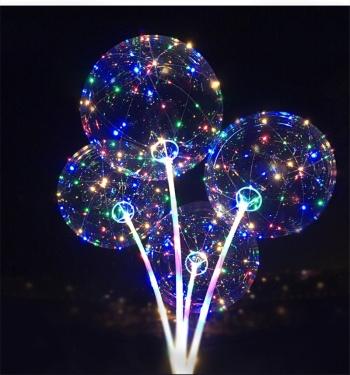 Led lights flashing light balloon and balloon rocker ball