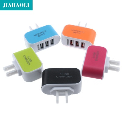 Multi function 3usb charger head 2A millet Samsung smart / Apple mobile phone universal