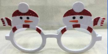 Manufacturer's direct selling dance party Christmas glasses AL1719B