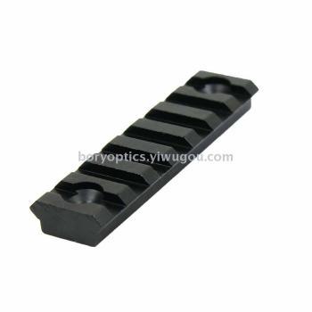 3 inch Keymod 8 Slot Picatinny Weaver Rail Handguard Section Aluminum 3