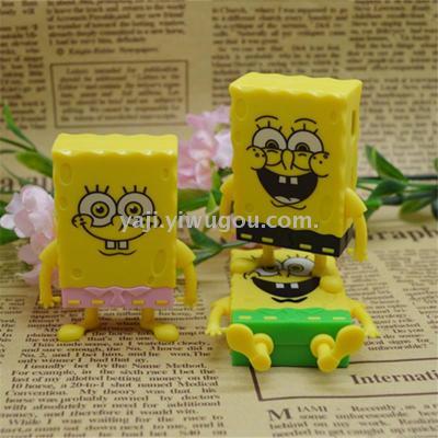 Cartoon sponge baby MP3 player card
