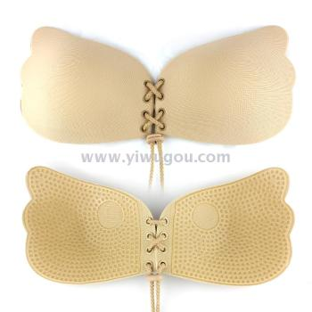 Foreign trade to sell hot style lala invisible bra lingerie bio-gel bra