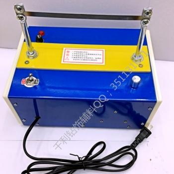 The heat - cutting machine is used to cut off the foam - cutting machine