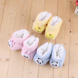 Winter new crystal velvet tiger shoes baby soft soles shoes