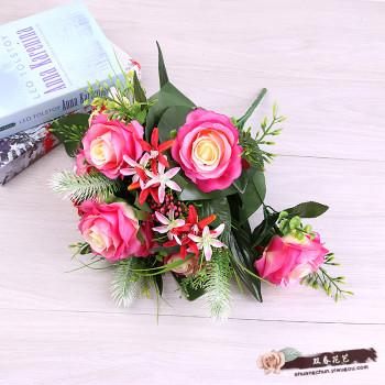 Single flower and flower arrangement of flowers, artificial flowers, plastic decorative flowers and decorative flowers