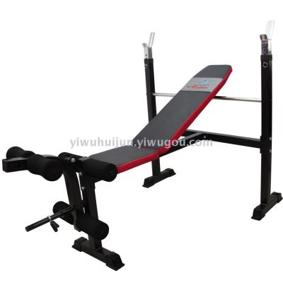 Standard multifunctional weightlifting bed bench press barbell dumbbell bench genuine home fitness equipment