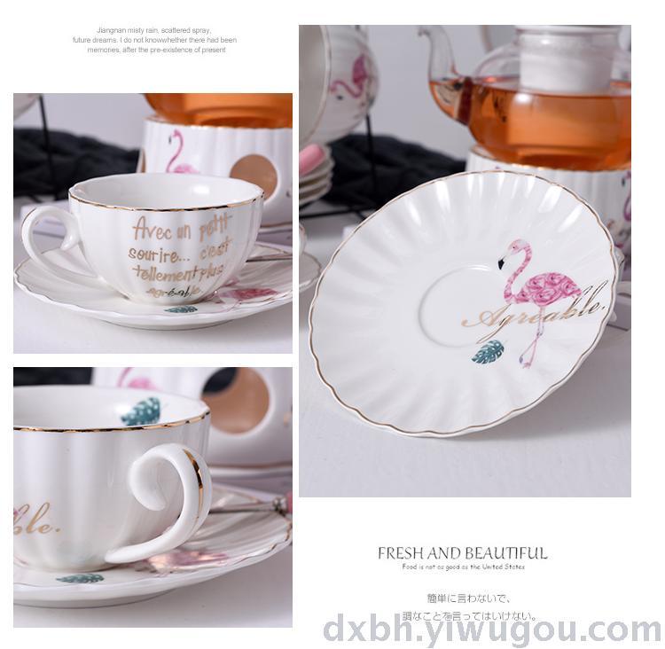 Supply Northern European flamingo pink girl's heart creative
