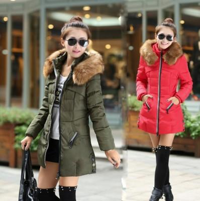 Cotton clothes women's long slim women's jacket large size cotton jacket winter women's coat foreign trade hot style