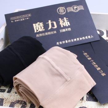 [Leg shape] magic socks genuine super-elastic slippery leg socks pants pants one pants