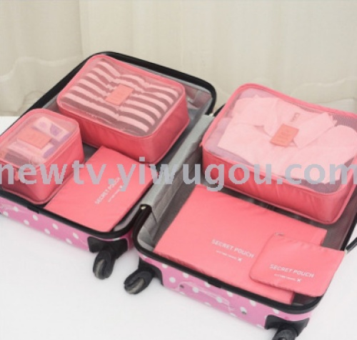 Pack 6 pieces of package of underwear and underwear in suitcase. 6 pieces can be customized