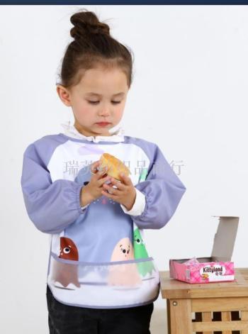 Baby cartoon anti-dressing children painting clothes baby clothes for the baby clothes