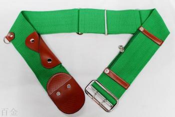 The factory sells 7.5CM Muslim pilgrimage belt custom-made