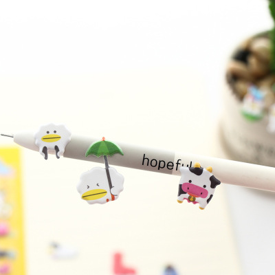 South Korean stationery cartoon, cartoon, cartoon, cartoon, puzzle, stereo sticker, kindergarten children's reward