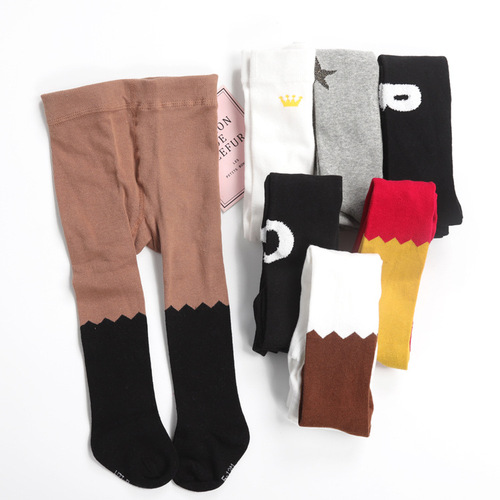 The new products are listed in the Korean edition of the children's pantyhose full cotton Korean edition