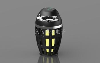 The new McLove i3 torch the flame of the flame bluetooth speaker 7 color atmosphere lamp light miniacoustics
