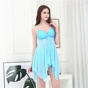 The new women's one-piece swimsuit two-piece swimsuit with small breasts gathered in the bathing suit