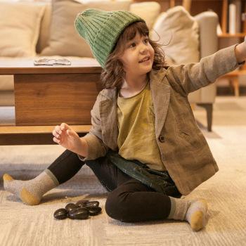 Children's socks cotton leisure 100% cotton baby socks wholesale
